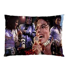 Michael Jackson Pillow Case Size 26 x 18 code F by liliangshop