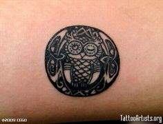 Owl Tattoo Meaning Feather Tattoos, Foot Tattoos, Forearm Tattoos, Tattoo Designs And Meanings, Tattoo Designs For Women, Tattoos For Women, Small Celtic Tattoos, Small Tattoos, Tattoo Celtic
