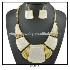 African Beads Jewelry Set Designs # Dongyang Yingfen Jewelry Factory