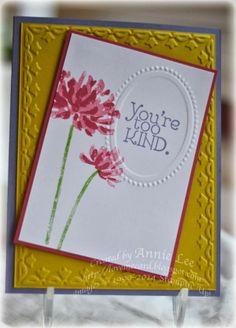 Love to Make Cards: Framed Too Kind