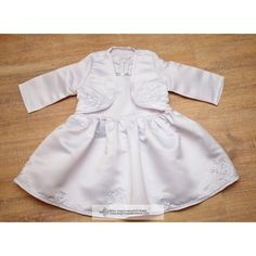 Hungarian Christening Dress, Little girl in braids dress made with braids decoration. This two-piece casual dress is made up of a small suit, a long-sleeved bol Christening, Anna, Rompers, Clothes, Dresses, Fashion, Gowns, Vestidos, Moda