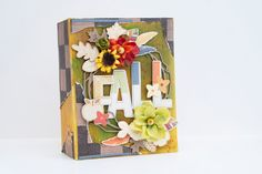 Crafty by AgnieszkaBe: Hey Little Magpie Scrapbook Albums, Scrapbooking, Hello Autumn, Fall Photos, Magpie, Hello Everyone, Mini Albums, Crafty, Creative