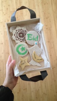 Eid cookies Eid Ramadan, Ramadan Sweets, Ramadan Wishes, Ramadan Gifts, Ramadan Recipes, Eid Recipes, Ramadan Food, Iced Cookies, Sugar Cookies