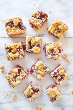 Cherry Pie Crumble Bars