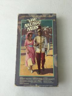 The Music Man VHS Tape Movie 1961 Warner Brothers Pictures Film 1986 Warner Home Video Packaging Musical Movie by NostalgiaRocks on Etsy