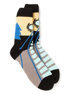 Socks by Artists – Henrik Vibskov | vanitysocks.com HENRIK VIBSKOV 'Eyeball' socks