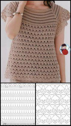 Crochet Top, Internet, Women, Fashion, Crochet Blouse, Made By Hands, Blouses, Tejidos, Handarbeit