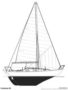 Specifications LOA: 7.8 m. (25′ 6″) LWL: 6.4 m. (21′ 0″) Beam: 2.3 m. (7′ 6″) Draft: 1.2 m. (4′ 0″) Ballast: 1043 kg. (2300 lbs.) Displacement: 2400 kg. (5400 lbs.) Sail Area: 28 sq.m. (304 sq.ft.) / 22sq.m. (244 sq.ft.) (J.J. Taylor boat)  Headroom: 1.73 m. (5 8″) Engine: 7hp Vire  Designer: David Sadler Builder: Jeremy Rogers Ltd / Chris Carrington / Maclan Marine / J. J. Taylor Year Introduced: 1966 Year Ended: 1990 Total Built: 650  Also Known As: J.J. Taylor 26