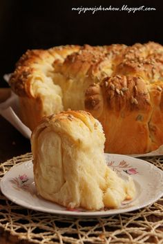 moje pasje: Bułgarski chlebek - słonecznik