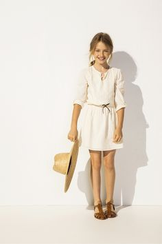 Pared down and beautiful. #designer #kids #fashion