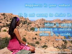 Happiness is in Your Nature - Meditation Benefits - http://www.making-healthy-choices.com/meditation-benefits.html
