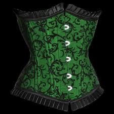 green and black fabric option