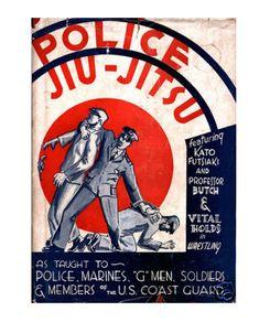 police jiu-jitsu poster