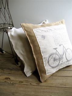 I'm gonna do this with the coffee sacks my guy has been saving. Classic everywhere style