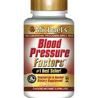 Blood Pressure Factors - 60 - Tablet by Michael's. Save 28 Off!. $13.01. Disclaimer: This website is for informational purposes only. Always check the actual product label in your possession for the most accurate ingredient information due to product changes or upgrades that may not yet be reflected on our web site. These statements made in this website have not been evaluated by the Food and Drug Administration. The products offered are not intended to diagnose, treat. The combinati...