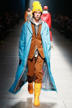 Undercover Fall 2018 Menswear Fashion Show Collection