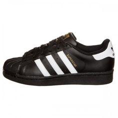 separation shoes 3b3e7 627ed Herr Dam Adidas Originals Superstar Foundation Skor Svart Vit B23642