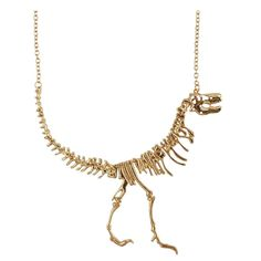 Dinosaur Bone Necklace #Under-$50 #For-Women #Gifts-For_Fashion-&-Gear
