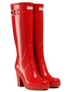 gummistiefel high heel  boots  hochhackige stiefel