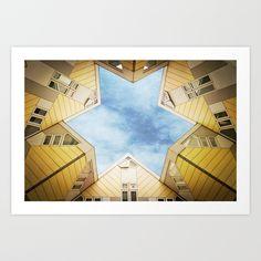 s t a r Art Print by Dirk Wuestenhagen Imagery