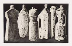 Artist Tony Cragg (born Title Six Bottles (Large), State 1 Date 1988 Medium Aquatint on paper Dimensions image: 371 x 612 mm Nathalie Du Pasquier, Still Life Drawing, Ceramic Figures, Ceramic Art, Message In A Bottle, Art Themes, Paper Dimensions, Glass Etching, Gravure