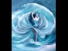 Sea dress by ElenaDudina on DeviantArt Orisha, Sea Dress, Avatar Picture, Beautiful Dark Art, Dungeons And Dragons Characters, Soul Art, Creative Photos, Fantasy Girl, Photo Manipulation