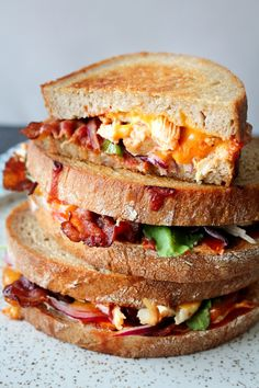 – One Kitchen – A Thousand Ideas Baby Food Recipes, Mexican Food Recipes, Snack Recipes, Food Baby, Dinner Recipes, Sandwiches, Bbq Bacon, Grilled Cheese Recipes, Food Crush