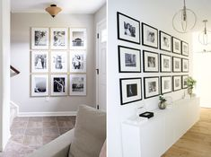 Photo Ledge, Picture Ledge, Photo Wall, Light Images, World Photography, Interior Designing, Hanging Pictures, Perfect Image, Contemporary Interior