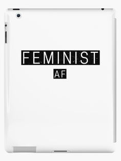 Feminist AF Design available across a wide range of products - Link in bio 💪🏻   #feminist #feminism #equalrights #equal #rights #womensrights #women #men #woman #activist #march #distressed  #giftideas #gift #giftsforher #vote #metoo #feministquotes #feministaf #feminismisforeverybody #hustle  #motivate #motivation #ipad #samsung #apple #tablet #pro #sleeve #case #ipadcase #tabletsleeve