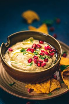 Baba Ganoush is basically a Levantine dish assembled by mixing tahini, eggplant and olive oil. It is served with Pita Bread as starter