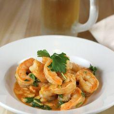 Garlicky Beer Shrimp by foodgal