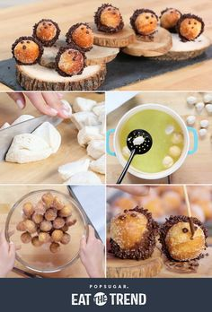 These adorable hedgehog doughnut holes are so easy to make! Idea for B. Hedgehog Birthday, Fairy Birthday, Birthday Cake, Doughnut Holes, Popsugar Food, Gateaux Cake, Baby Girl Shower Themes, Oreo Pops, Baby Shower Cookies