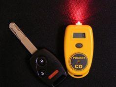 Keychain/Pocket Carbon Monoxide Detector #aeromedix