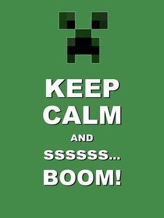 Keep Calm and ssss... BOOM
