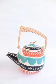 Tetera tricolor - Comprar en Mundo Cacharro