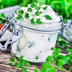 Leichter Kräuterquark - Magerquark-Rezepte zum Abnehmen