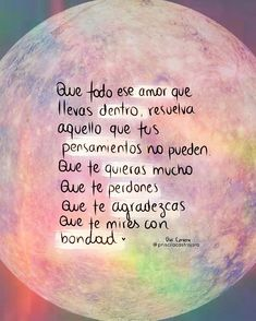 The inside of you-L 💓dentro d ti The inside of you - Motivational Phrases, Inspirational Quotes, Words Quotes, Wise Words, Sayings, Best Quotes, Love Quotes, Quotes En Espanol, Spanish Quotes
