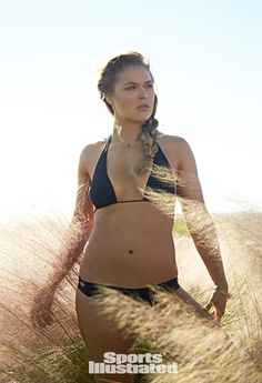 Ronda Rousey Swimsuit Photos, Sports Illustrated Swimsuit 2015