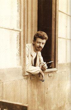Guillermo Kahlo, el padre de Frida. ¡Linda foto!