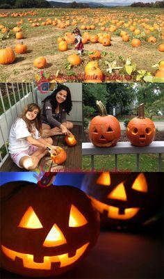 Como cortar y preparar una calabaza para Halloween