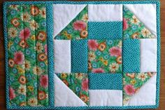 A Simple Method for Making a Churn Dash Quilt Block