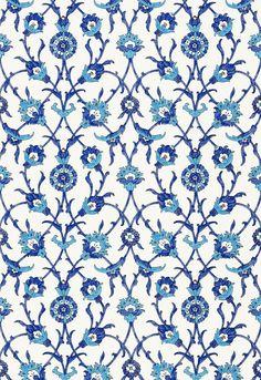 FSchumacher Wallpaper 5006700 SULTAN'S Trellis Peacock