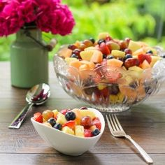 Sparkling Summer Fruit Salad recipe