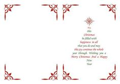 Christmas Insert & Verse in Red Green Christmas Tree Shape - CUP553071_68 | Craftsuprint