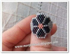ring flower seed beads