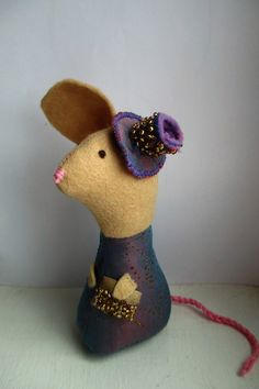 Mother of the Bride/Groom Gift, Wedding Mice, Cake Toppers by oothatsnice on Etsy
