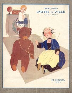 Catalogue Grand Bazar de l'Hotel de Ville. Etrennes 1925. Becassine.