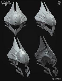 ArtStation - Blur Studio / Halo Wars 2 - Cinematic Cutscenes ( Shipmaster armor), David Munoz Velazquez