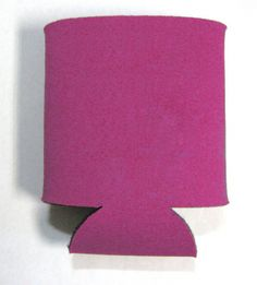 This is a sample of a FUSHIA collapsible Kan Kooler. It can be custom imprinted with your message by Crown Advertising.  Order at CrownAdv.com. Key Fobs, Coasters, Advertising, Crown, Messages, Mugs, Corona, Keychains, Coaster
