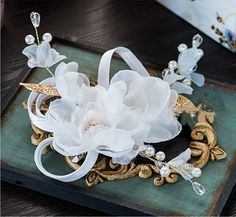 NEW Bridal flower Hair Clip  Wedding Party Acessories Decoration 16060301